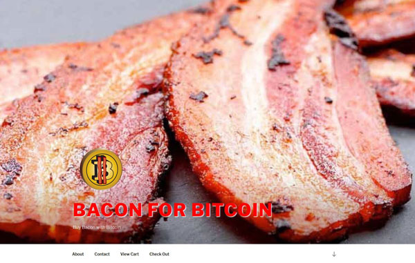 Bacon for Bitcoin